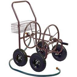 BS Garden Hose Reel Cart with Wheels Heavy Duty Metal Wateri