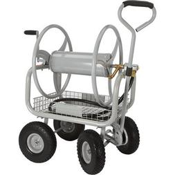 Strongway Garden Hose Reel Cart - Holds 400ft.L x 5/8in. Dia