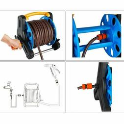 Garden Hose Reel Stand Water Pipe Storage Rack Cart Holder B
