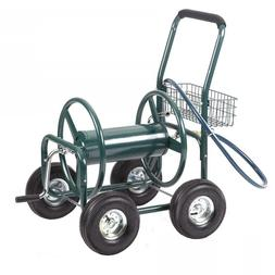 BestMassage Garden Water Hose Reel Cart Garden Cart with Hea