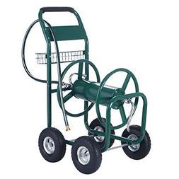 XtremepowerUS Garden Water Hose Reel Cart 300 FT Outdoor Hea