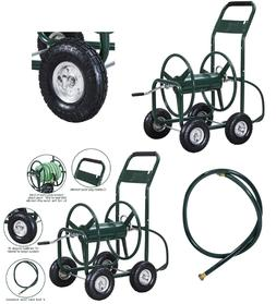 Garden Water Hose Reel Cart Heavy Duty Comfortable Foam Padd