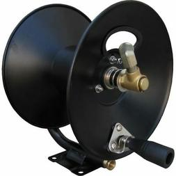 "General D30002 3/8"" x 100' Steel Hose Reel with Mounting Bas"