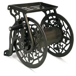 Hampton Bay Garden Hose Reel Holder Storage Water Steel Wall