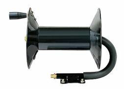 "REELWORKS Hand Crank Air Compressor Hose Reel, 3/8"" x 100 ft"
