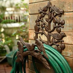 Heavy Duty Cast Iron Hose Holder,Garden & Yard Decorative Wa