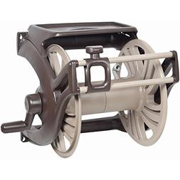 Heavy Duty Crank Handle King Wall Mount Hose Reel in Camel