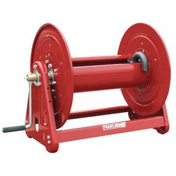 Reelcraft Heavy Duty Hand Crank Hose Reel, Red, 3/4 in.