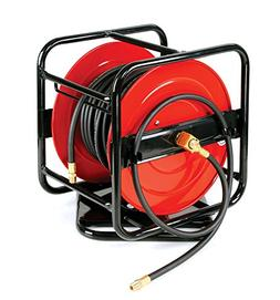 REELWORKS Heavy Duty Pro Level Portable Hand Crank Air Hose