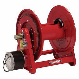 Reelcraft 12 Volt DC Motor Rewind Hose Reel - Fits 1/2in. x
