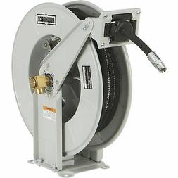 Roughneck Heavy-Duty Oil Hose Reel with 1/2in. x 50ft. Hose