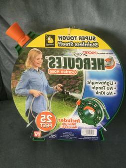 BULBHEAD HERCULES GARDEN HOSE INCLUDES WIND-UP HOSE REEL 25