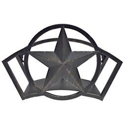 Garden Hose Hanger Hold Star Storage Antique Bronze Steel Ru