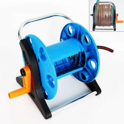Portable Hose Garden Reels Storage Rack Water Gun Quick Conn