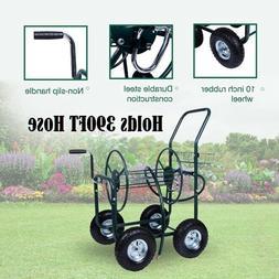 Hose Reel Cart Garden Water Manual Hose Reels Portable Wheel