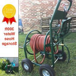 Hose Reel Cart Water Plant Garden Heavy Duty Planting Outdoo