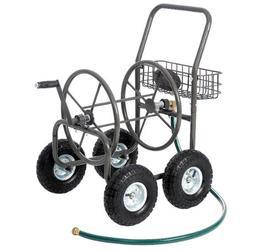 Hose Reel Cart Watering Garden Portable Storage Holder Outdo