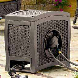 Hose Reel Suncast Foot Capacity Storage 125 Ft Automatic Rew