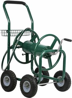 Hose Reel Garden Cart Portable Heavy Duty Yard Water Plantin
