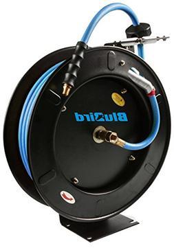 BluBird Hose Reel w/Rubber Air hose 300 PSI Auto Retractable