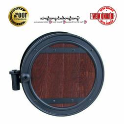 Hose Reel Wall Mount Steel 100 ft Durable Aluminum Water Sys