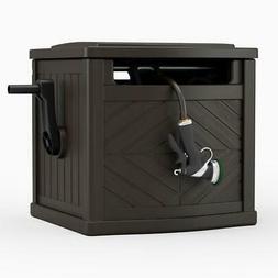 Portable Outdoor Garden 150 Ft Hideaway Water Hose Storage P