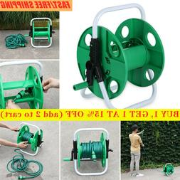 HOT New portable garden hose reel water pipe free standing w