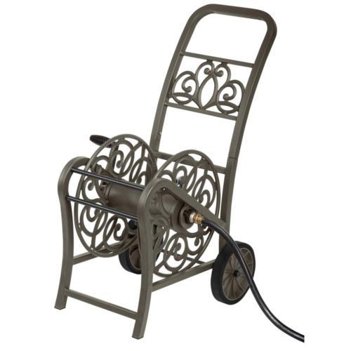Hampton Bay 2-Wheel Hose Reel Cart 8 in. wheels and swivel c