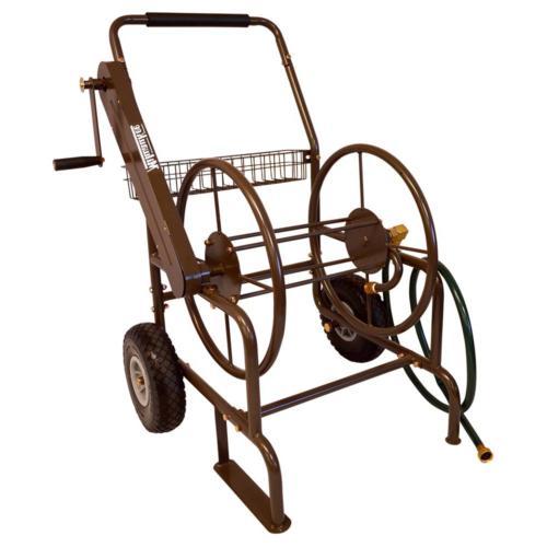 Milwaukee 250 ft. 2-Wheel Mobile Hose Reel Commercial Grade