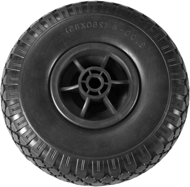 """Liberty Garden Products 4005-P 10"""" Flat Free Tire For Hose R"""