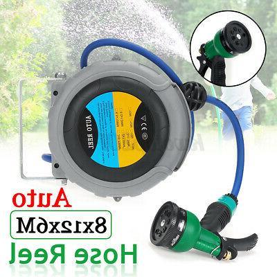 20Ft Automatic Water Hose Reel Garden Compressor Reels Retra