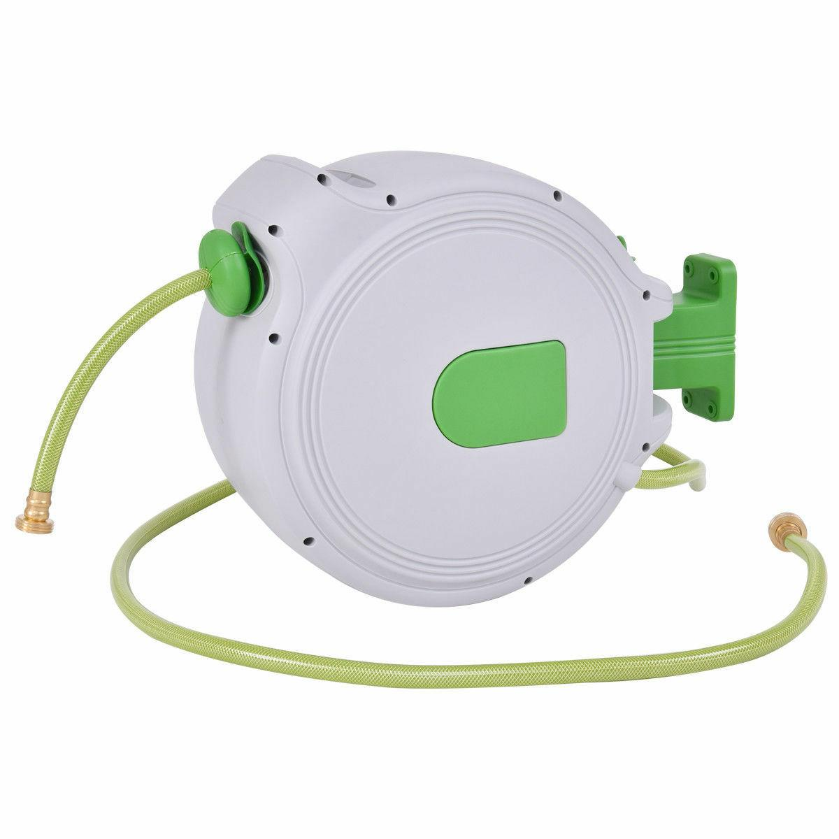 65' Retractable Hose Reel Auto Wall Mounted