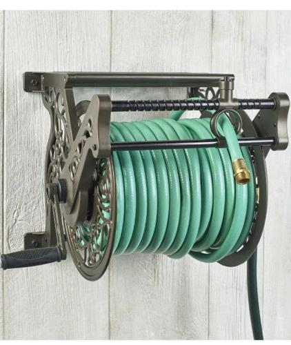 Liberty Wall-Mounted 360 Rotating Hose Reel,