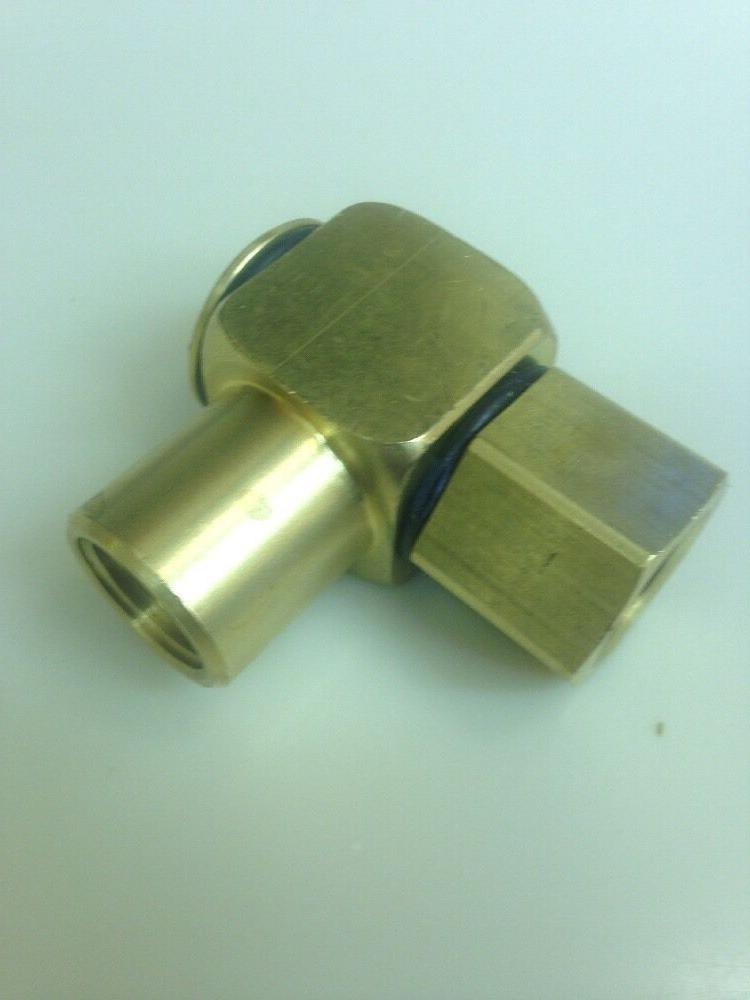 90° Brass 1/2 F x 1/2 3000 PSI Priority Shipping