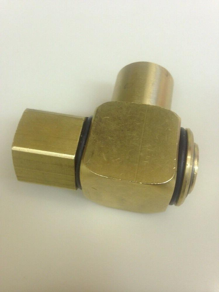 90° Swivel Brass 1/2 F, Priority