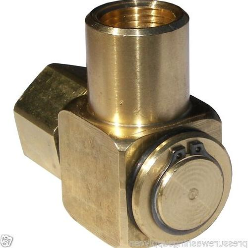 90 hose reel swivel brass 1 2