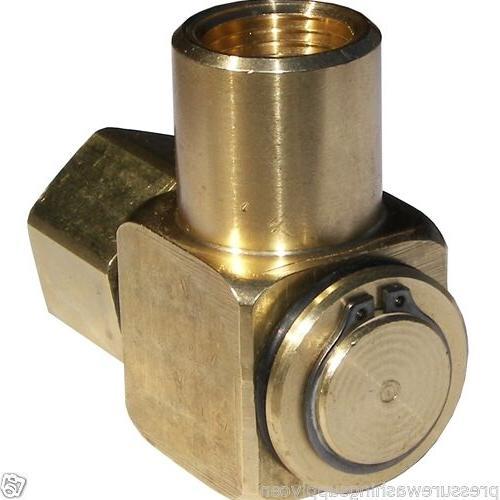 90 hose reel swivel brass 1 2