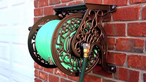 Liberty Garden Mount Cast Hose Reel