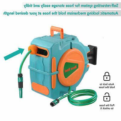 auto rewind garden water hose