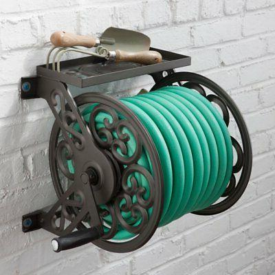 decorative hose reel steel