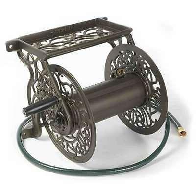 decorative metal garden water hose wall mounted