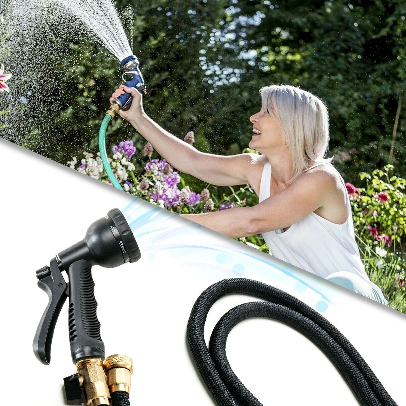 Deluxe 100 FT Flexible Garden Water