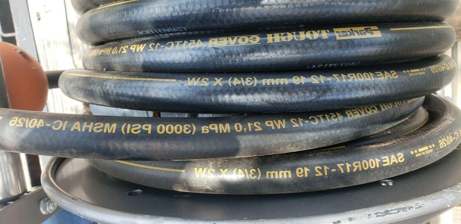 Hannay Electric hydraulic hose with high