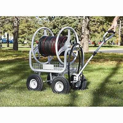 Strongway Garden Hose Cart - Holds x