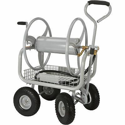 garden hose reel cart holds 400ft l