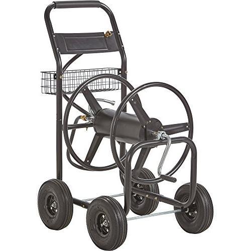 garden hose reel cart holds