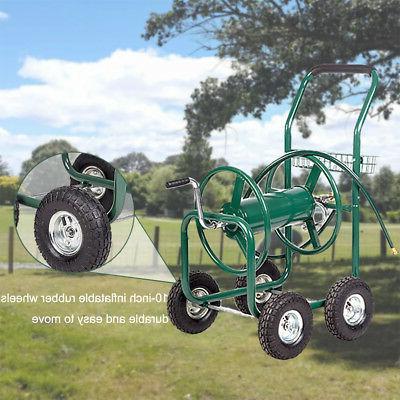 Garden Water Reel Cart Heavy Duty