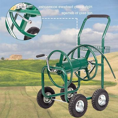 Garden Water Hose Cart Outdoor Heavy Yard Planting