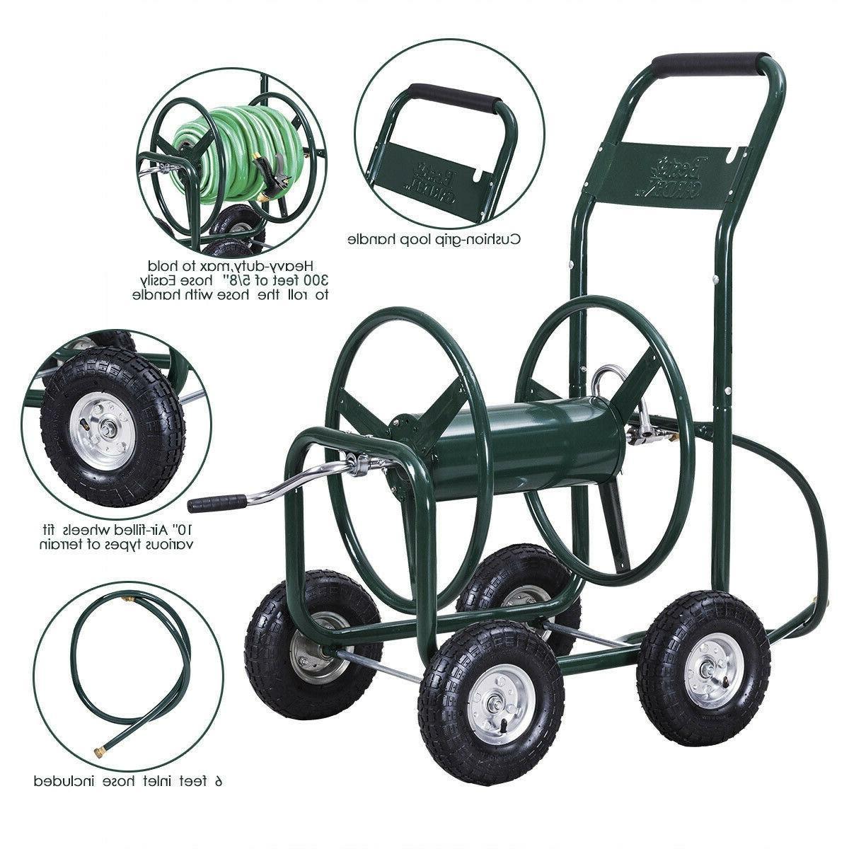 Garden Water Cart Duty Foam Padded ft