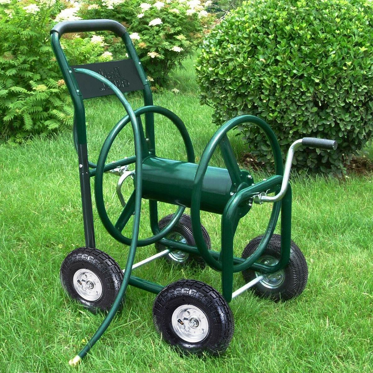 Garden Hose Cart Heavy Duty Foam Padded ft